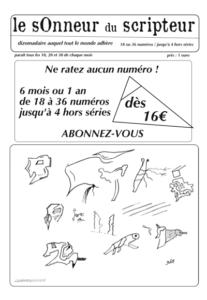 Catégorie abonnement - 4 formules dès 16 euros