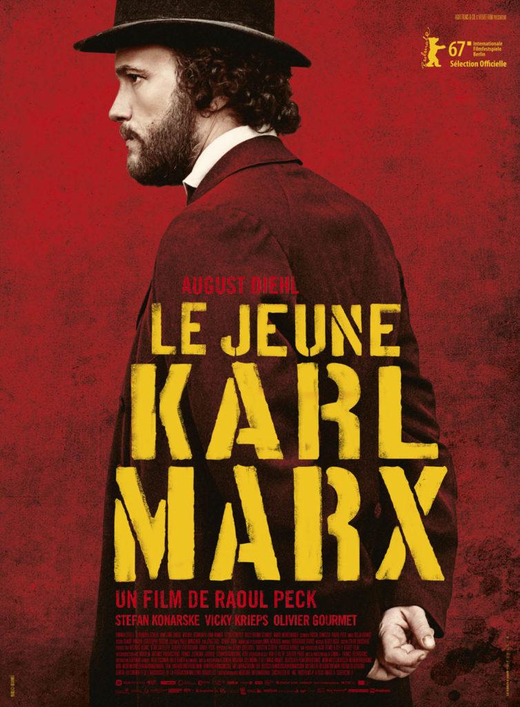 Le jeune Karl Marx - Affiche