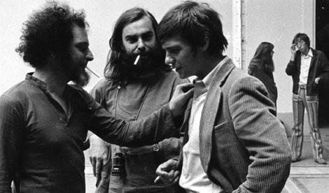 Georges Perec, Bernard Queysanne et Jacques Spiesser.